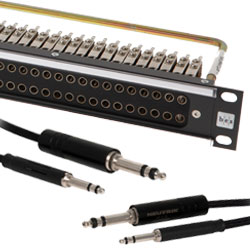 Audio Patch Panels and Accessories