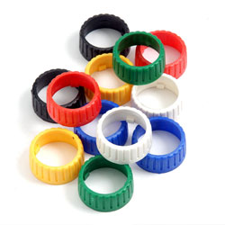 Colour Coding Rings for Ring Lock DIN Connectors