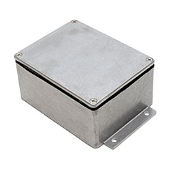 Aluminium Enclosure - IP68 Flanged - Plain