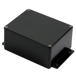 Aluminium Enclosure - IP68 Flanged - Powder Coated